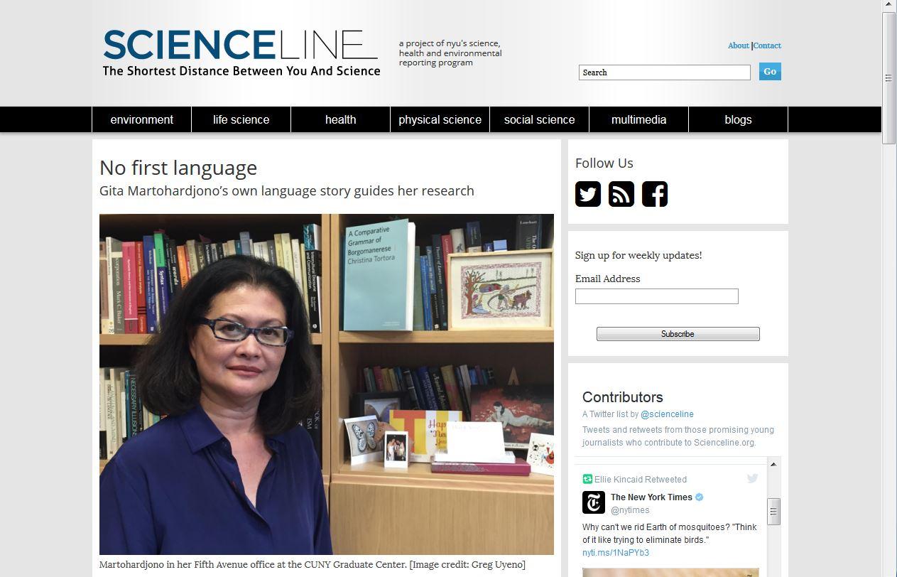 GMProfile-Scienceline